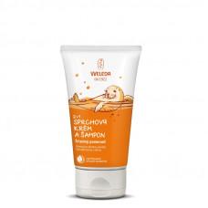 2v1 Sprchový krém a šampón Sladký pomeranč