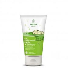 2v1 Sprchový krém a šampón Veselá limetka