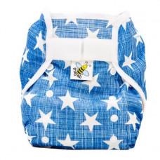 PUL svrchní kalhotky Hvězdičky na modré